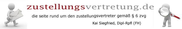 zustellungsvertretung.de - Rund um den Zustellungsvertreter gemäß § 6 ZVG
